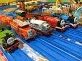 【Spielzeugeisenbahn】Thomas, die kleine Lokomotive Toby, Hiro, Samson, Percy, Thomas (03252 de)