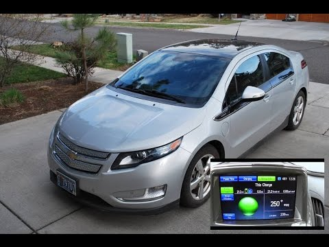 What Is The Actual Electric Range On A Chevy Volt