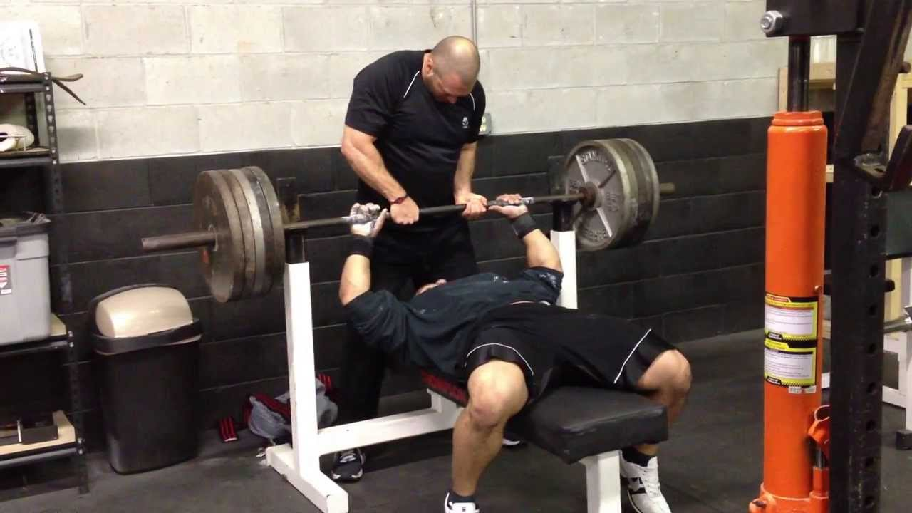 495x2 Bench Press Youtube