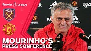 Mourinho's Press Conference | West Ham United v Manchester United | Premier League