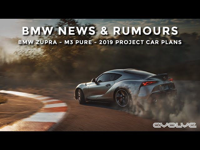 BMW News & Rumours - Toyota Supra - G80 M3 Pure - Evolve Project Car Updates