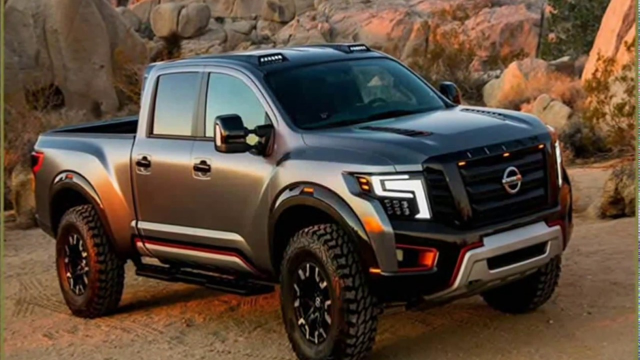 Nissan Frontier Review >> Nissan Titan 2018 | New 2018 Nissan Titan Midnight Edition Review And Specs - YouTube