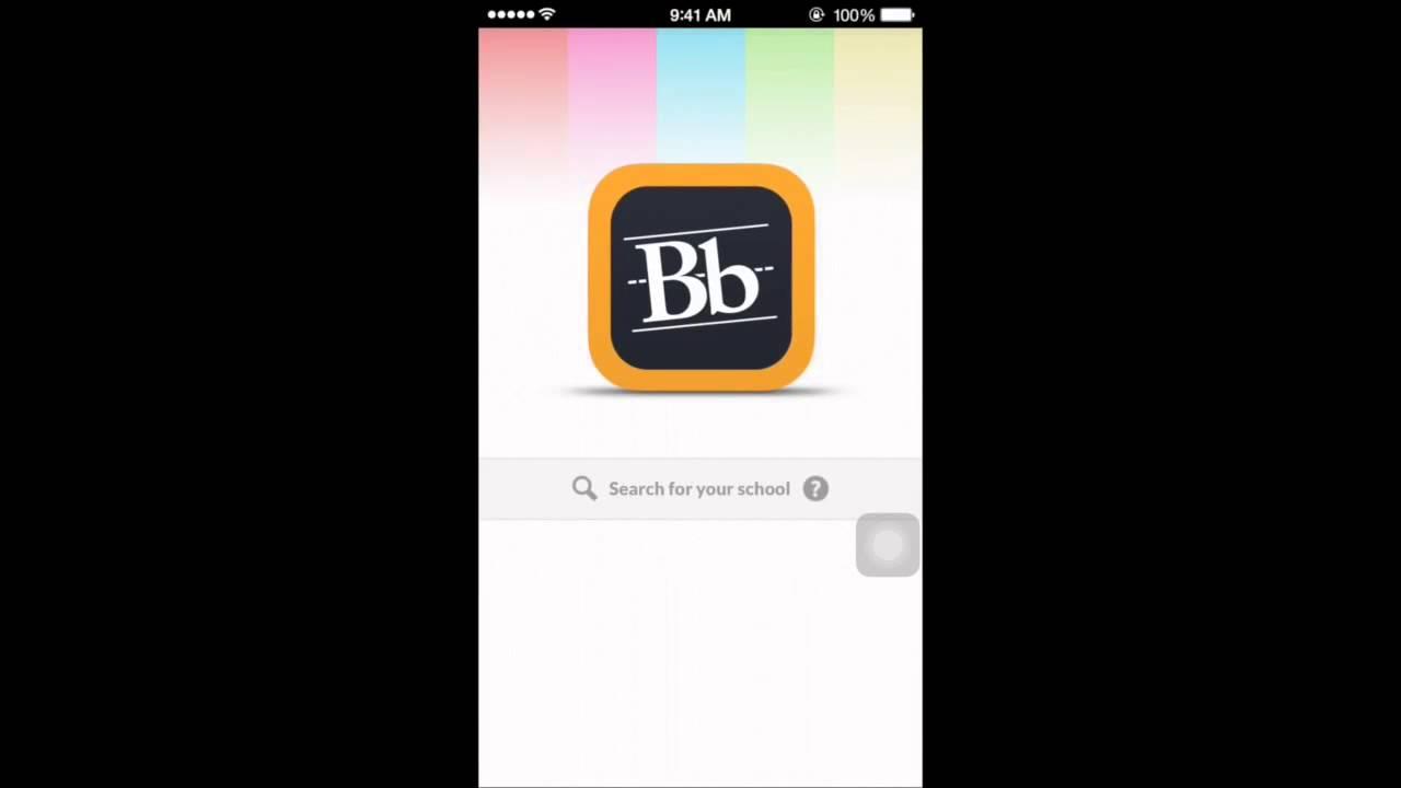 طريقة تحميل تطبيق نظام البلاك بورد والدخول إليه من الأيفون Youtube