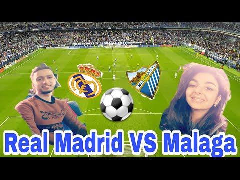 VLOG MALAGA#1 : REAL MADRID VS MALAGA EN DIRECT