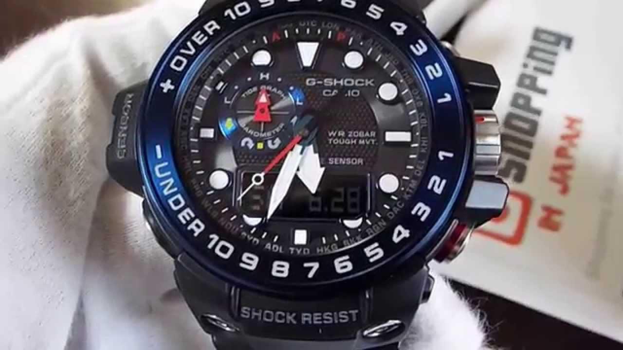 Casio G-Shock Gulfmaster GWN-1000B-1B JF (Japan Release) - YouTube ac2246e12daf