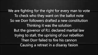 XGM-The Dorr Rebelion (Lyrics) (Social Studies Cla