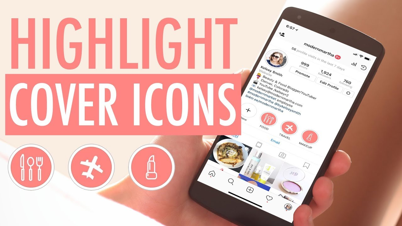 How To Create Covers For Instagram Stories Highlights In Canva Youtube