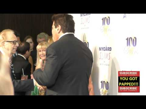 Lou Ferrigno Jr and Sr and Carla Ferrigno at Norby Walters' 26th Annual Night Of 100 Stars Oscar Vie