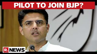 Rajasthan Political Crisis: Sachin Pilot Likely To Join BJP | Sources