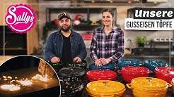 Gusseisen Töpfe / Unsere Herstellung / On Tour / Sallys Welt