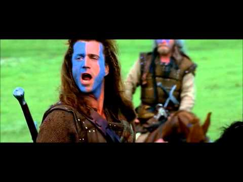 Braveheart (1995) - Best scene - William Wallace's speech (HD)