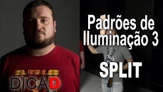 Padrões de Iluminação para Retrato 3/4 - Split