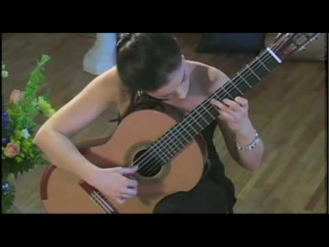 Ana Vidovic Guitar Artistry in Concert - Classical Guitar Performance DVD