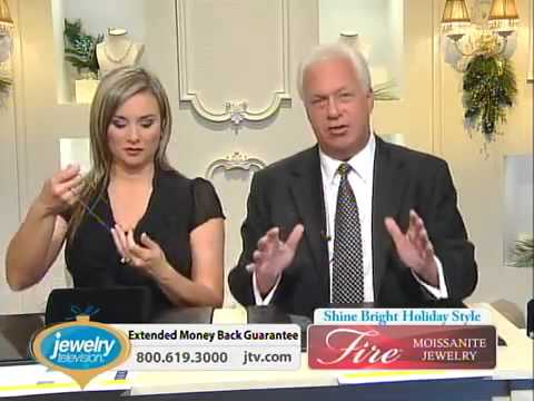 Moissanite Fire With Mandy 10 20 2013 12 00 AM   Jewelry Television   YouTube