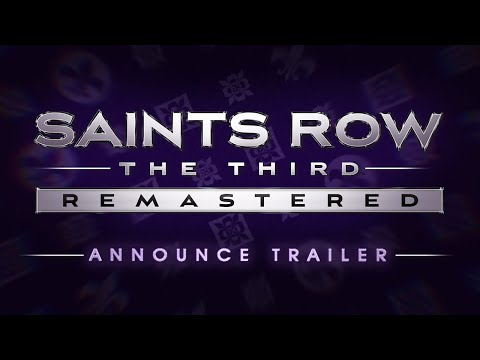 Saints Row®: TheThird™ - Remastered Announce Trailer (Official)
