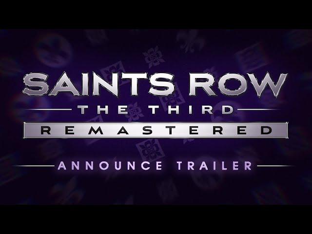 Saints Row: The Third Remastered (видео)