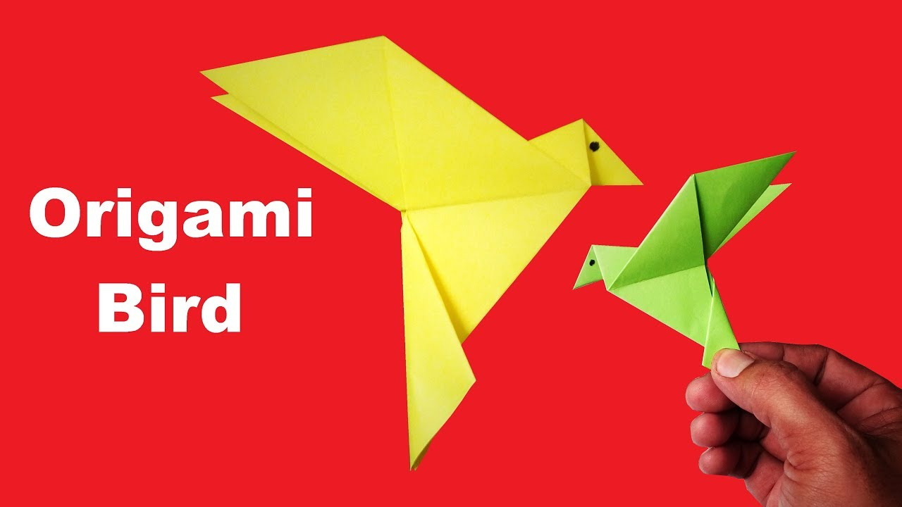 Origami Bird How To Make An Origami Bird How To Make A Paper