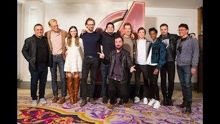 ¡Encuentro con LOS VENGADORES en Londres y premiere de Infinity War!