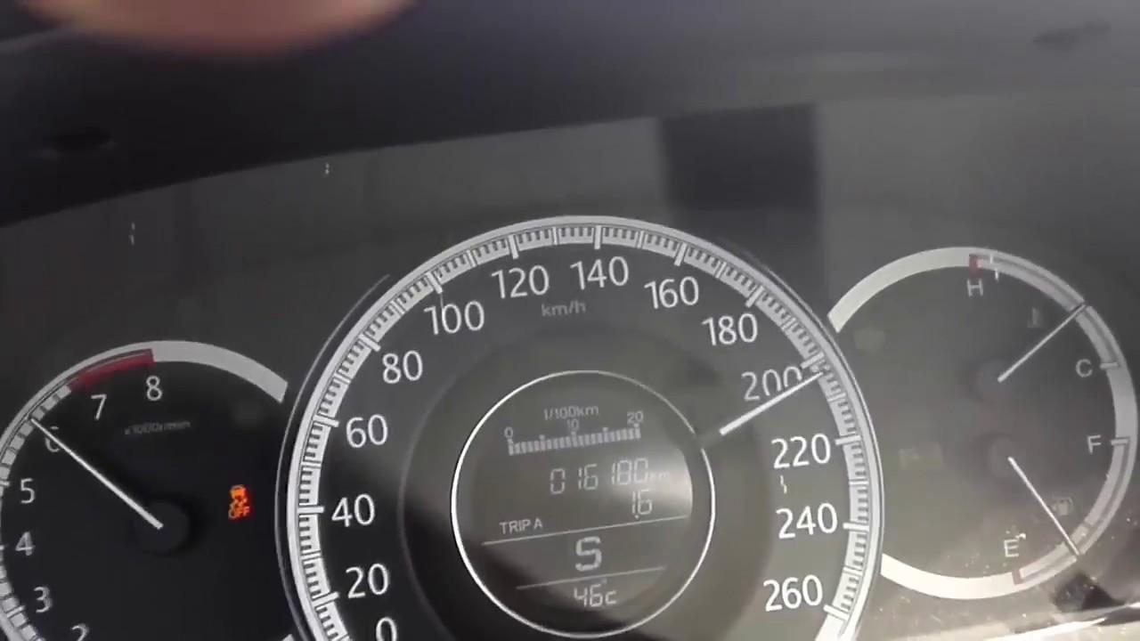 Honda Accord Sport >> Honda Accord 2.4 EarthDream Sport 2017 Top Speed - YouTube