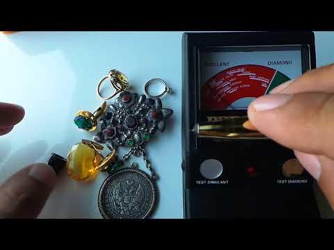 Как определить стекло или камень в ювелирном изделии простой способ