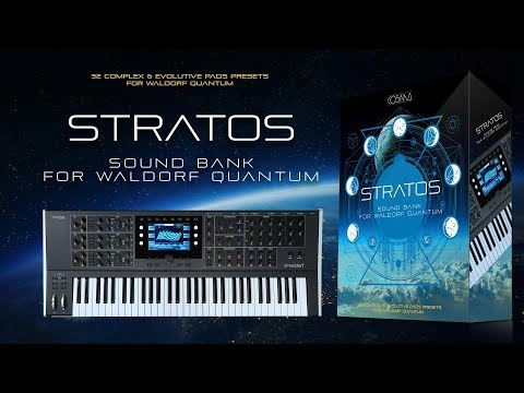 STRATOS Sound Bank for Waldorf Quantum by CO5MA