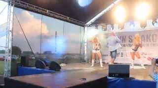 Pudzian Band - Cała wiara -  Chabsko 06.07.2014