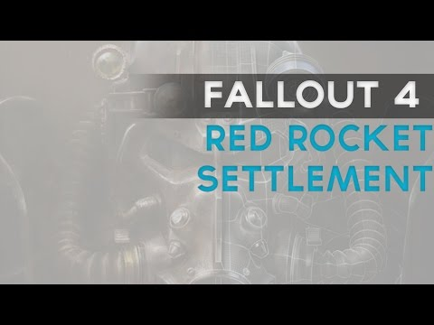 Fallout 4: Red Rocket Settlement (10 Times the size limit!)
