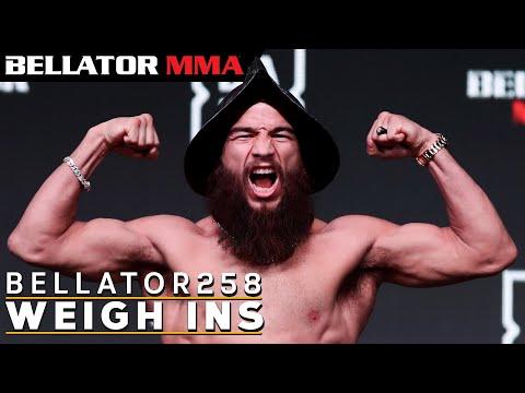 Weigh Ins | Bellator 258: Archuleta vs. Pettis