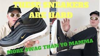 size 40 6c5b3 f0166 Riccardo Tisci x Nike Air Max 97 Mid + On Feet