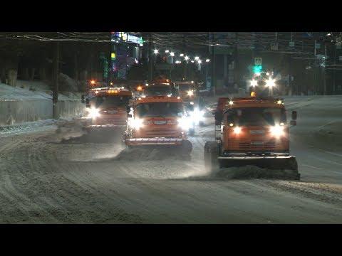 Капризная зима обеспечила жаркую ночь дорожно-коммунальным службам Волгограда