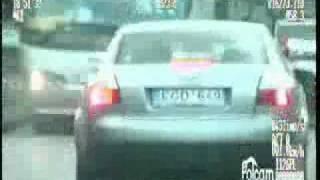 Policyjny pościg za kradzionym audi