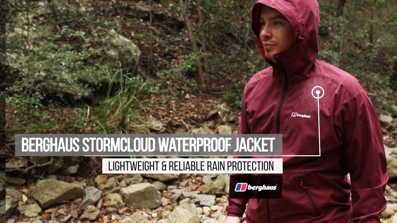 Berghaus Stormcloud Waterproof Jacket Review - Lightweight