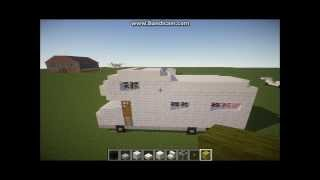 Minecraft How To Build a Camper Van/RV #1