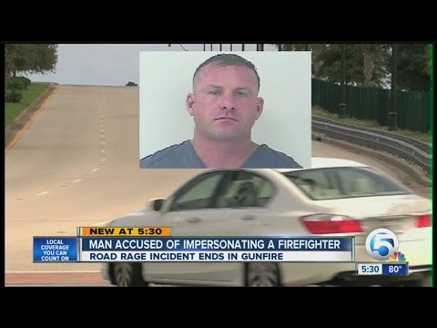 Fla. man charged with impersonating firefighter