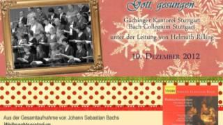[10] Gächinger Kantorei Stuttgart - Ehre sei dir, Gott, gesungen