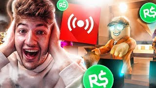 🔴LIKE HAVING ROBUX FREE IN ROBLOX LIVE!! - ROBUX FREE