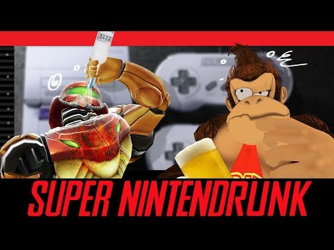 SUPER NINTENDRUNK - Drunk SNES Classic Gameplay