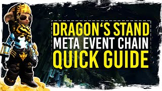 Guild Wars 2 - Quick Guide to Dragon's Stand Crystalline Ore Farm / 1080p 50fps