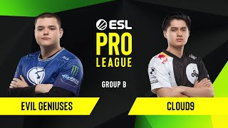 CS:GO - Cloud9 vs. Evil Geniuses [Train] Map 2 - Group B - ESL NA Pro League Season 10