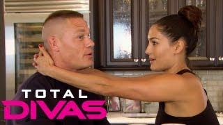 john cena tells nikki bella she should reconnect with her father total divas aug 25 2013