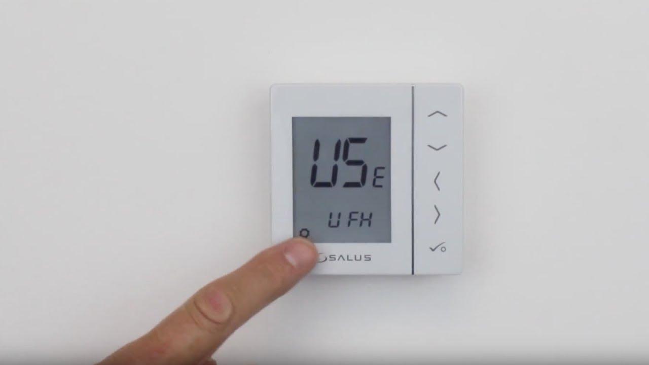 Pairing SALUS (VS20RF) Digital Thermostat and Smart Radiator control  (TRV10RF)