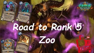 Hearthstone: Road to Rank 5 - Zoo Warlock #4: Rastakhan