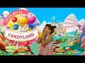 Little girl in Candyland – Sweet dream| Funny story