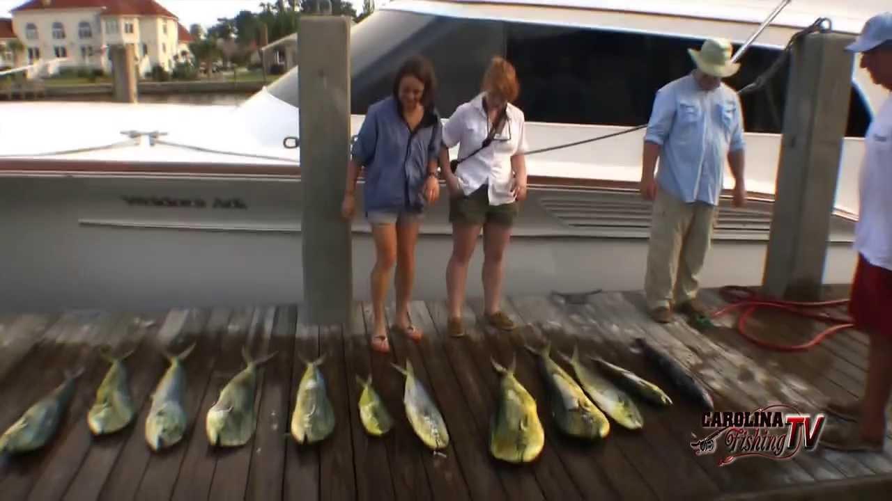Carolina fishing tv season2 8 mahi fun on the weldors for Carolina fishing tv