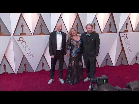 Oscars 2018 Arrivals: Dorota Kobiela, Hugh Welchman   Loving Vincent