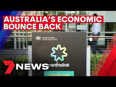 Australia's unemployment rate falls to 6.8 per cent as economy bounces back | 7NEWS