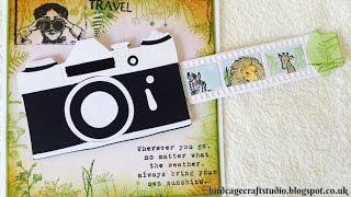 Sliding Camera Card Tutorial