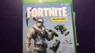 Fortnite Deep Freeze Bundle Code