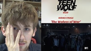 Download Video Teen Wolf Season 6 Episode 20 (SERIES FINALE) - 'The Wolves of War' Reaction MP3 3GP MP4