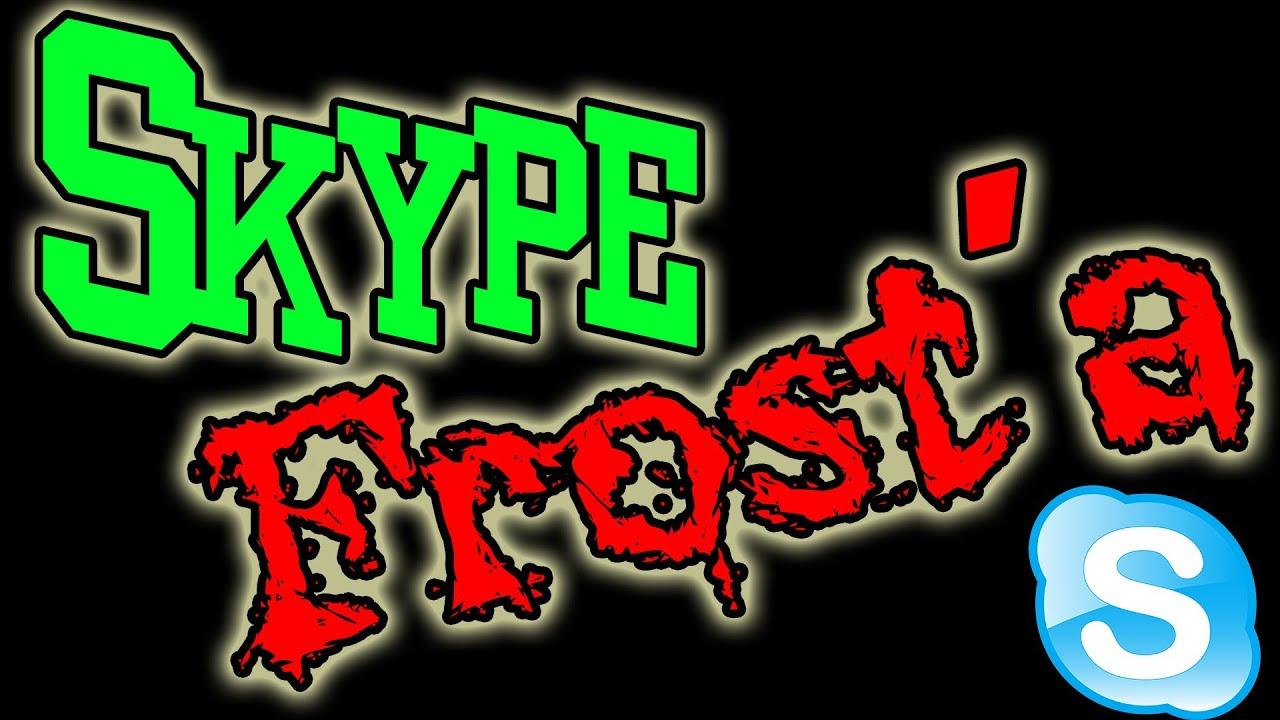 1 Апреля! Скайп Фроста! (Skype Frost'a)